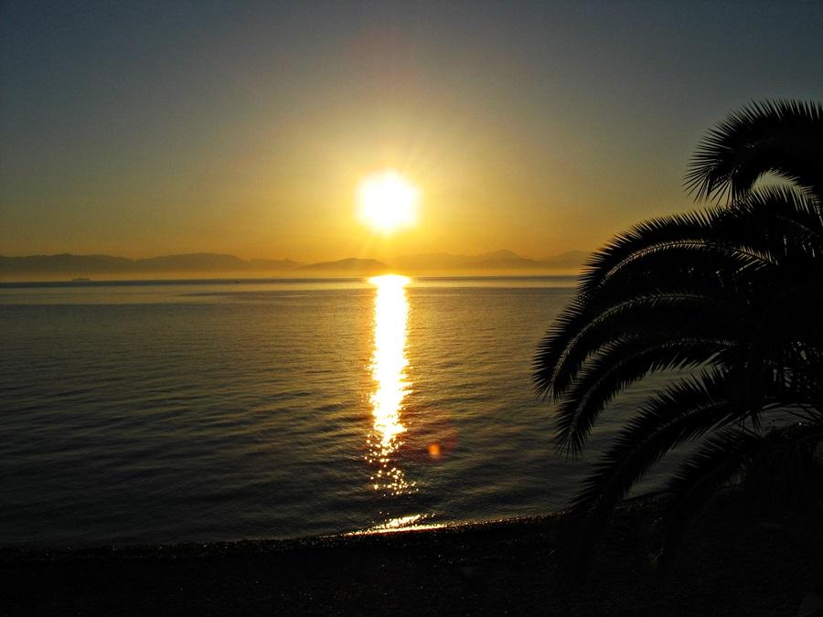 răsărit de soare insula Corfu