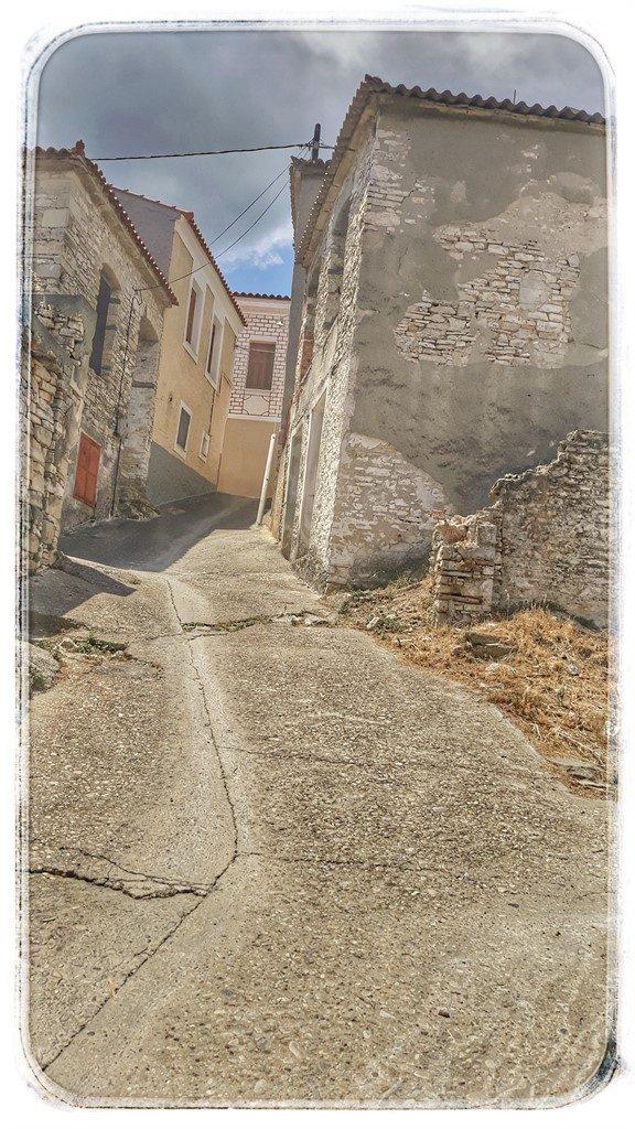 Satul Mytilini din insula Samos