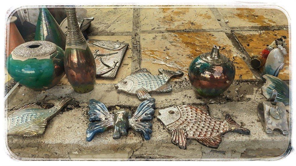 Ceramica de Samos metoda raku