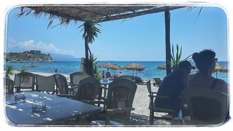 Potokaki beach bar Pythagorio Samos