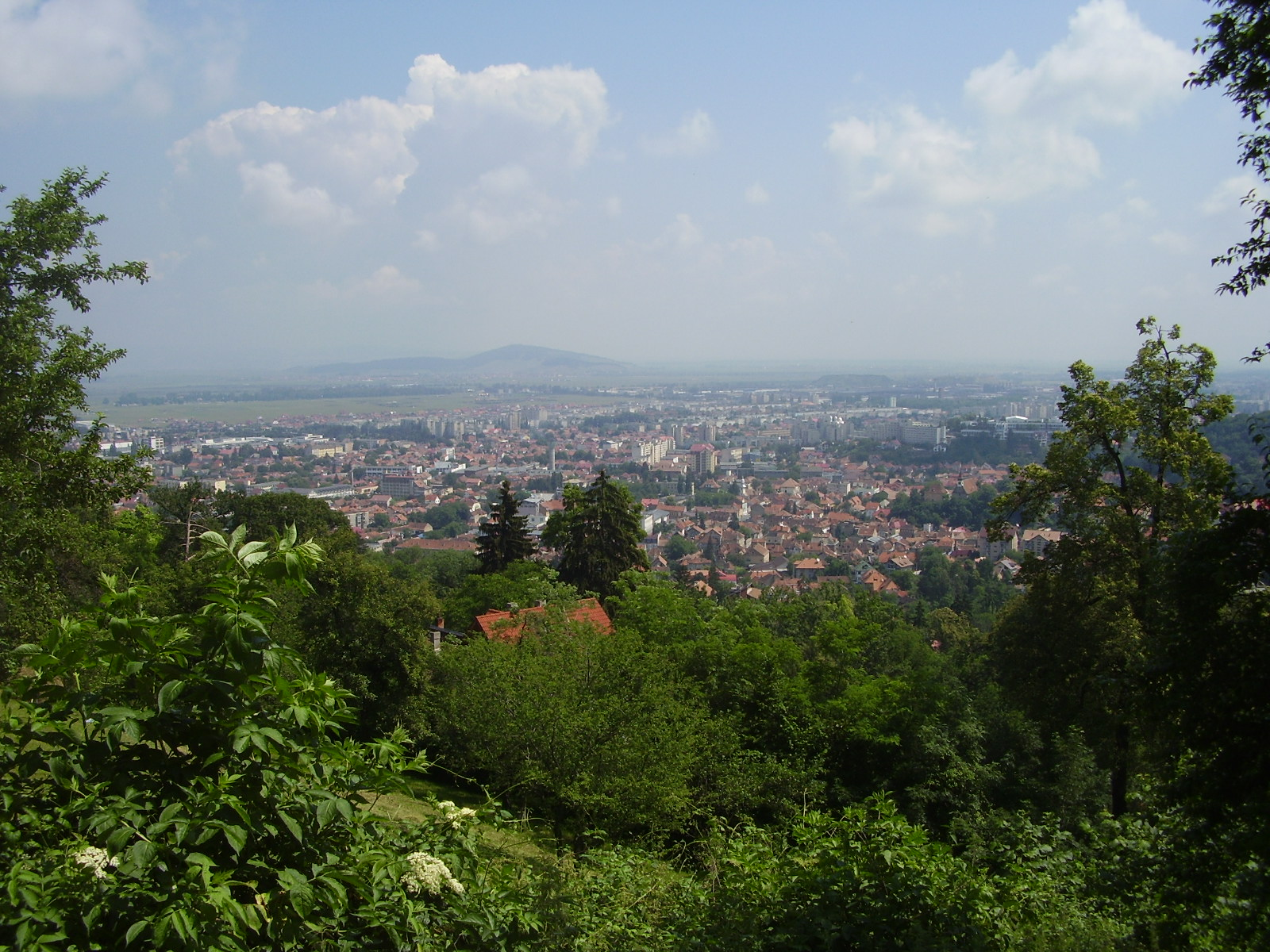 Orașul Brașov văzut de Sus