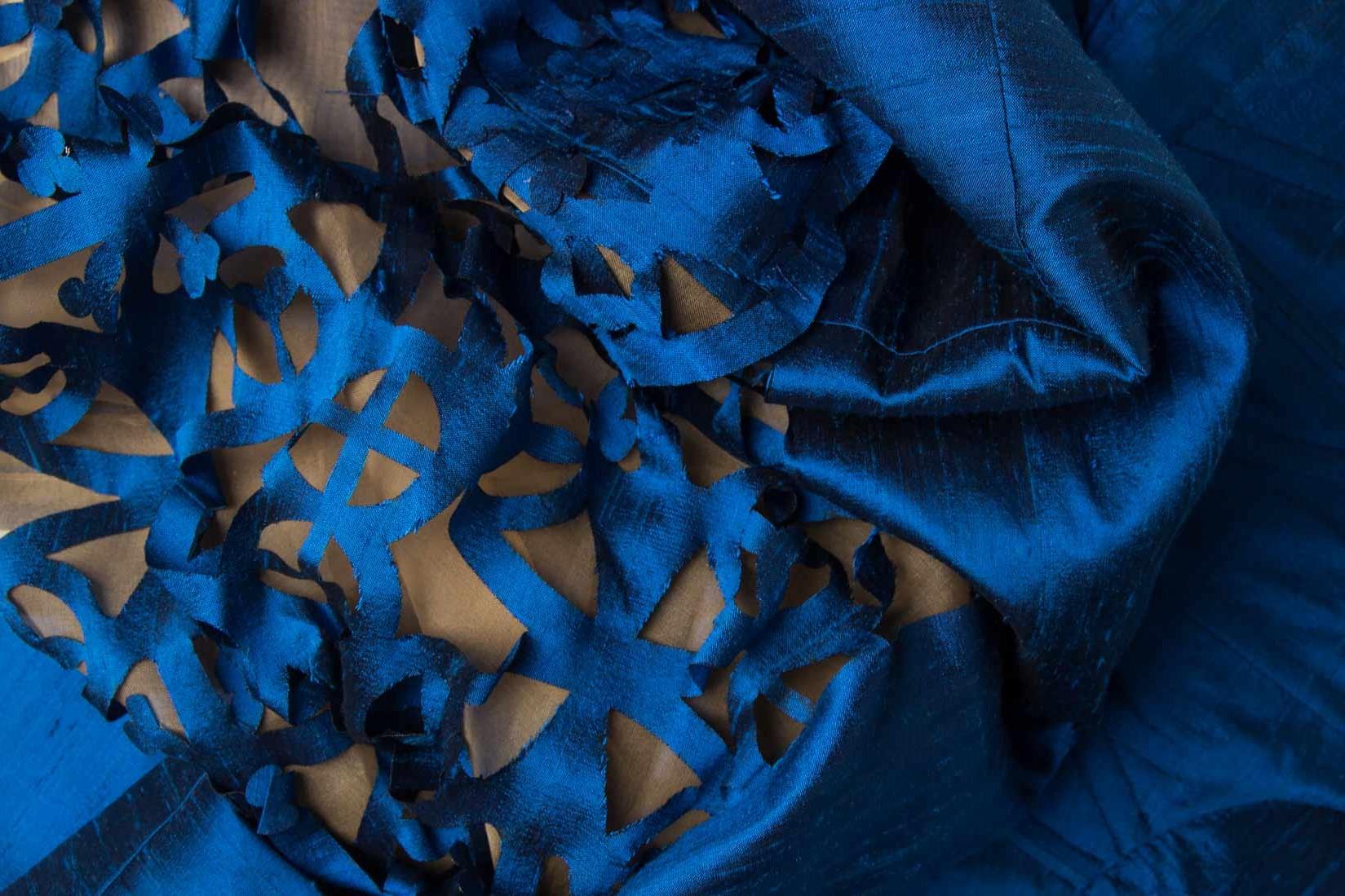 tăietură laser pe material textil