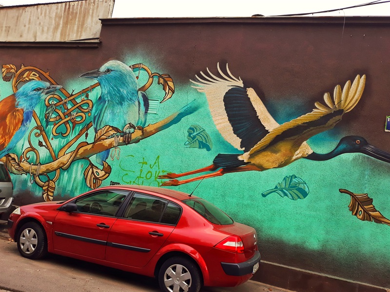 Artă stradală în București