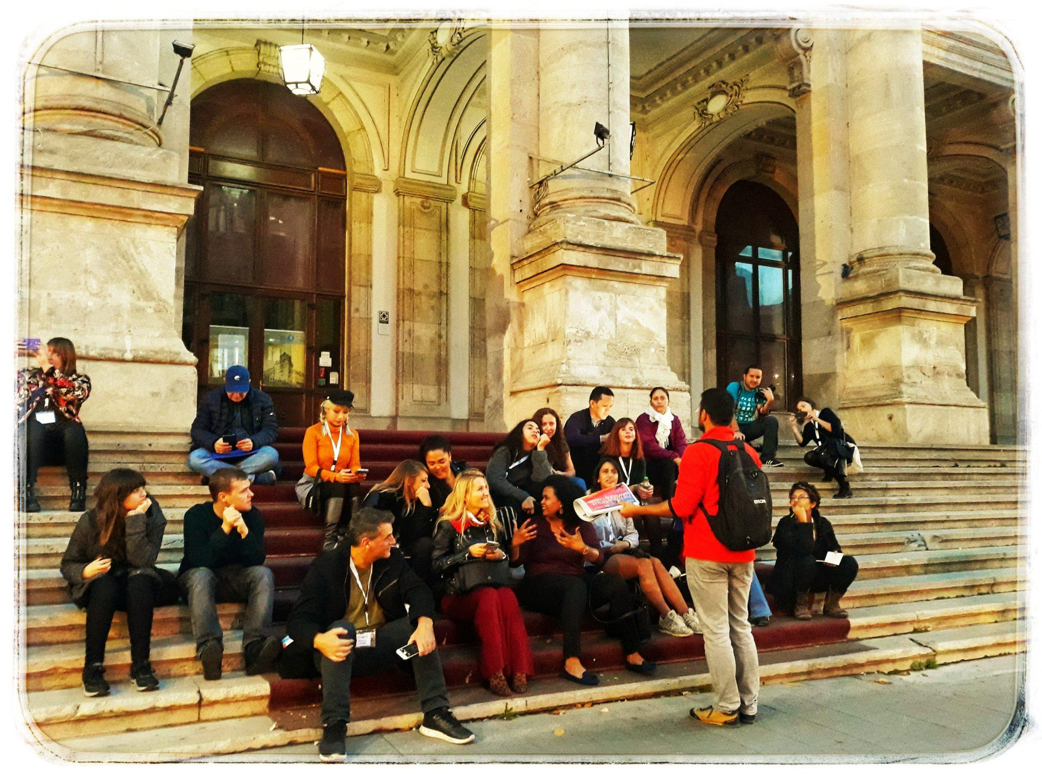 Prima experiență de călător prin București împreună cu bloggeri internaționali.