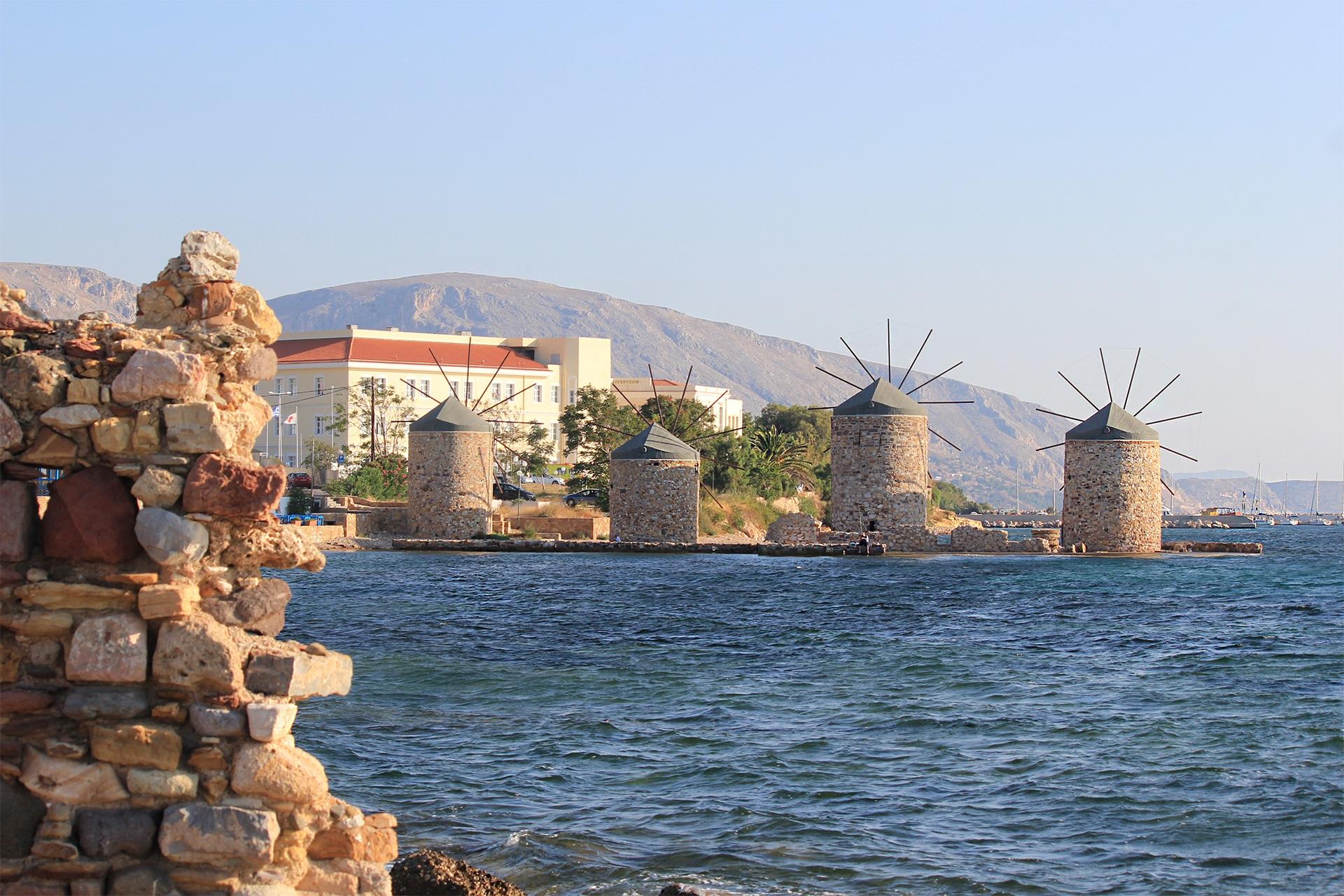 Insulele nord egeene insula Chios